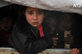 Турция хочет остановить новую волну беженцев из Сирии