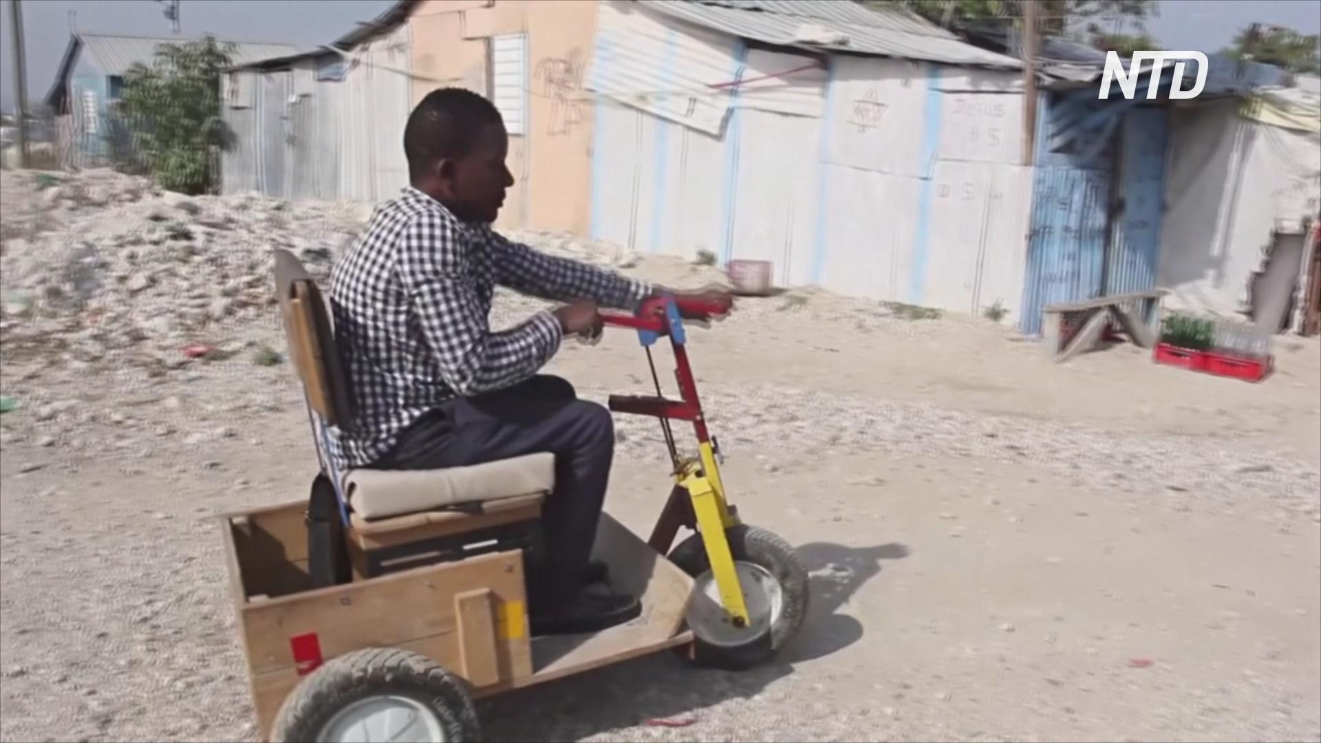 Гаитяне, ставшие инвалидами после землетрясения, всё ещё бедствуют
