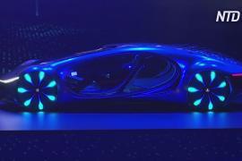 Выставка CES: лётомобиль Hyundai и Mercedes в духе «Аватара»