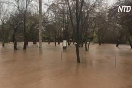 Израиль частично парализован из-за новых наводнений