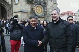Прага и Тайбэй стали городами-побратимами