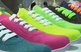 Пиджаки из пластика и обувь из водорослей: выставка экомоды в Берлине