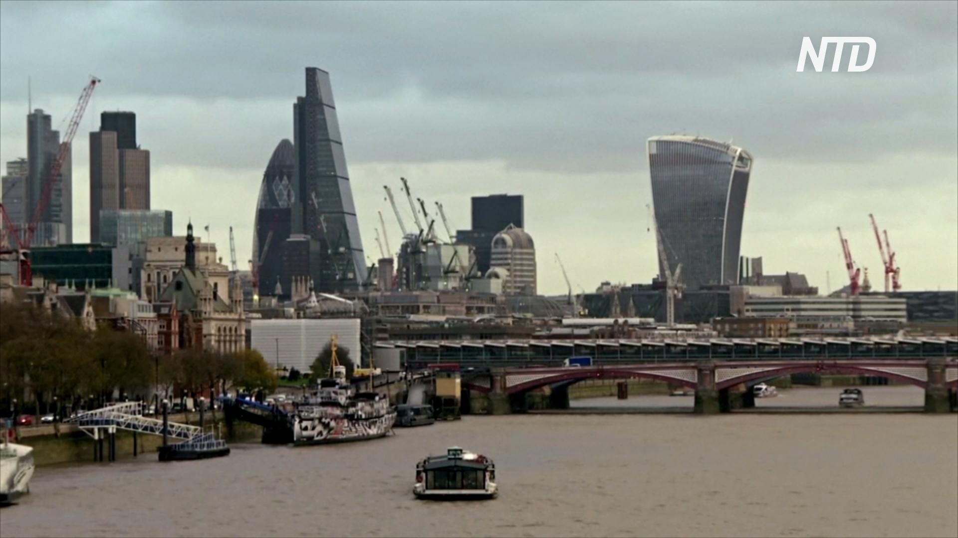 Темпы роста британской экономики – самые медленные с 2012 года