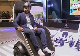 Segway представила на CES «кресло на колёсах»