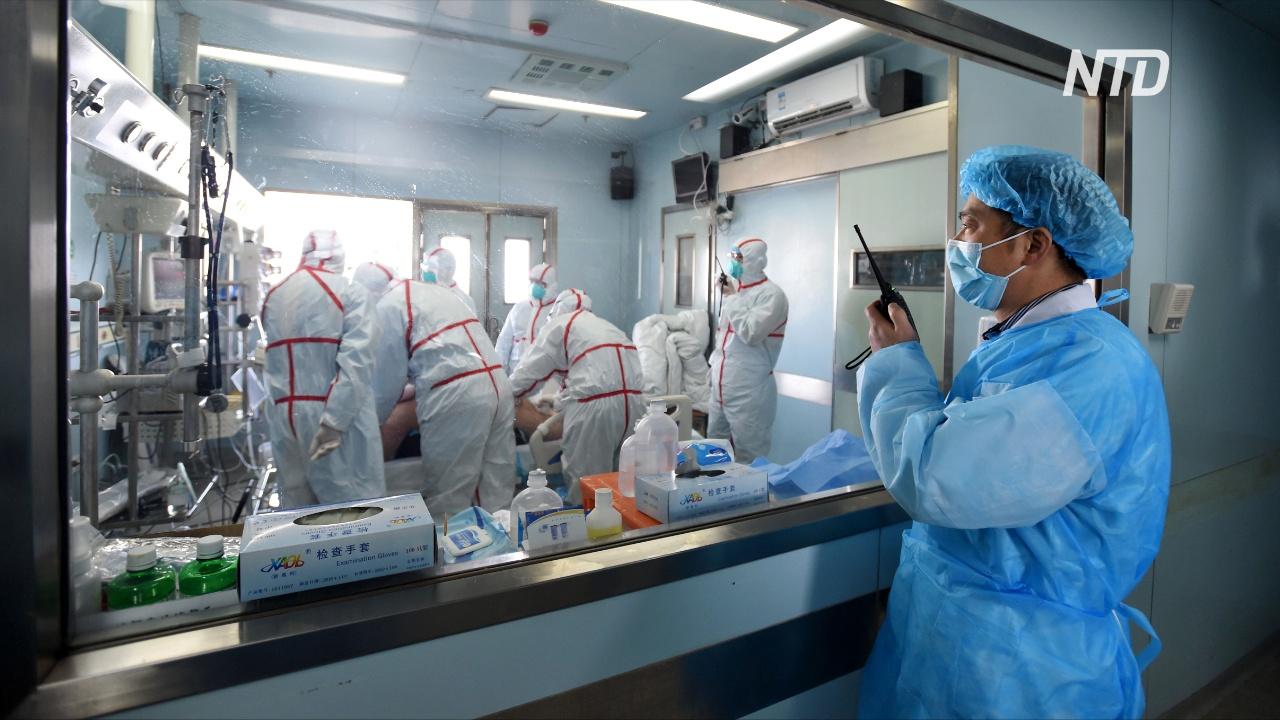 Новый тип китайского коронавируса, возможно, передаётся от человека к человеку