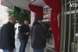 В столице Ливана громят банки