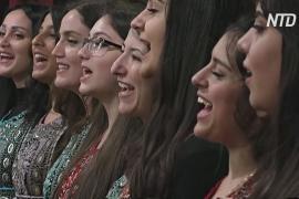 Женский хор собирает свадебные песни разных городов Сирии