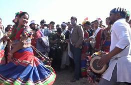 Непальский народ тхару с размахом празднует Новый год