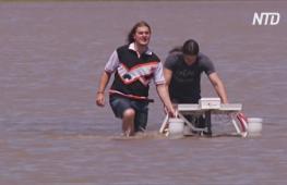 Студенты придумали водный дрон, который поможет справиться с загрязнением