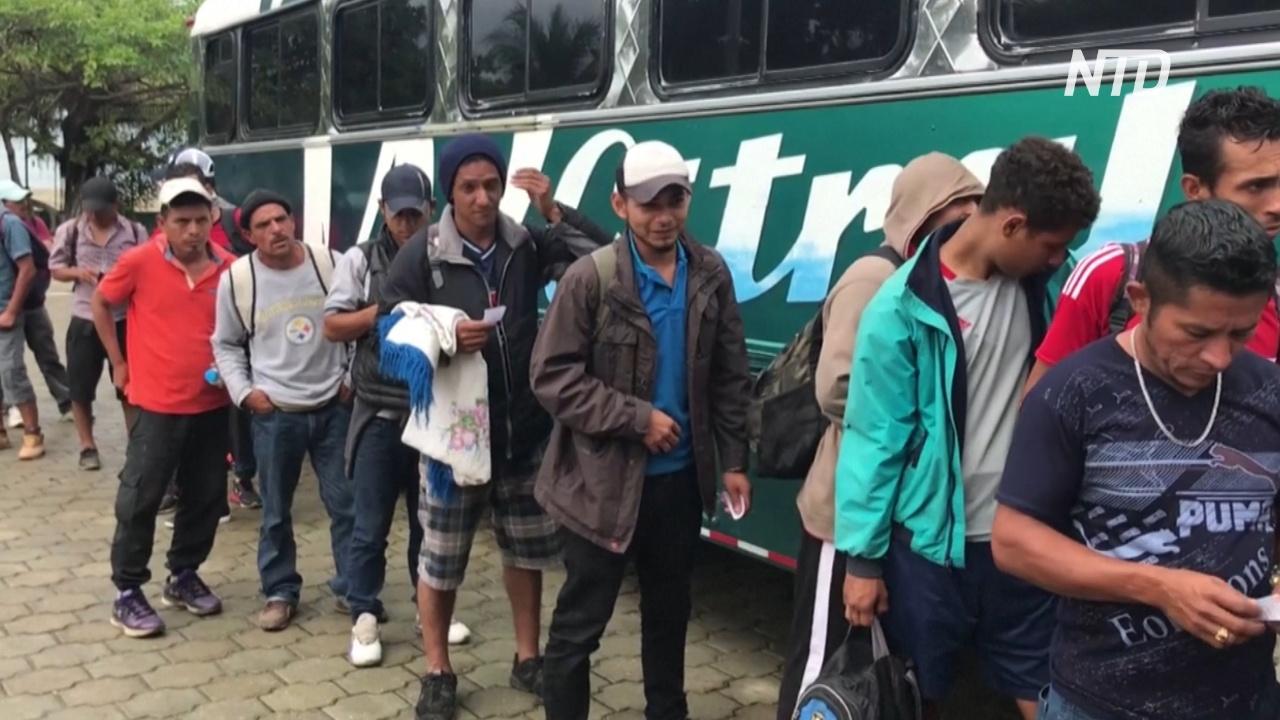 Мексика выдворила тысячи нелегальных мигрантов в Гондурас