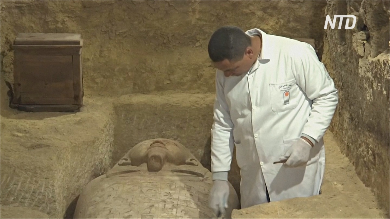 В Египте обнаружили 2500-летние гробницы верховных жрецов