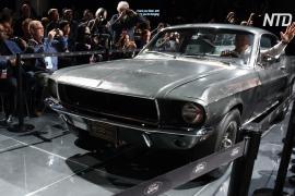 Ford Mustang из фильма «Буллит» ушёл с молотка за рекордные $3,4 млн