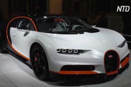 Автошоу в Брюсселе: люксовые Porsche, Bentley и Ferrari – в центре внимания