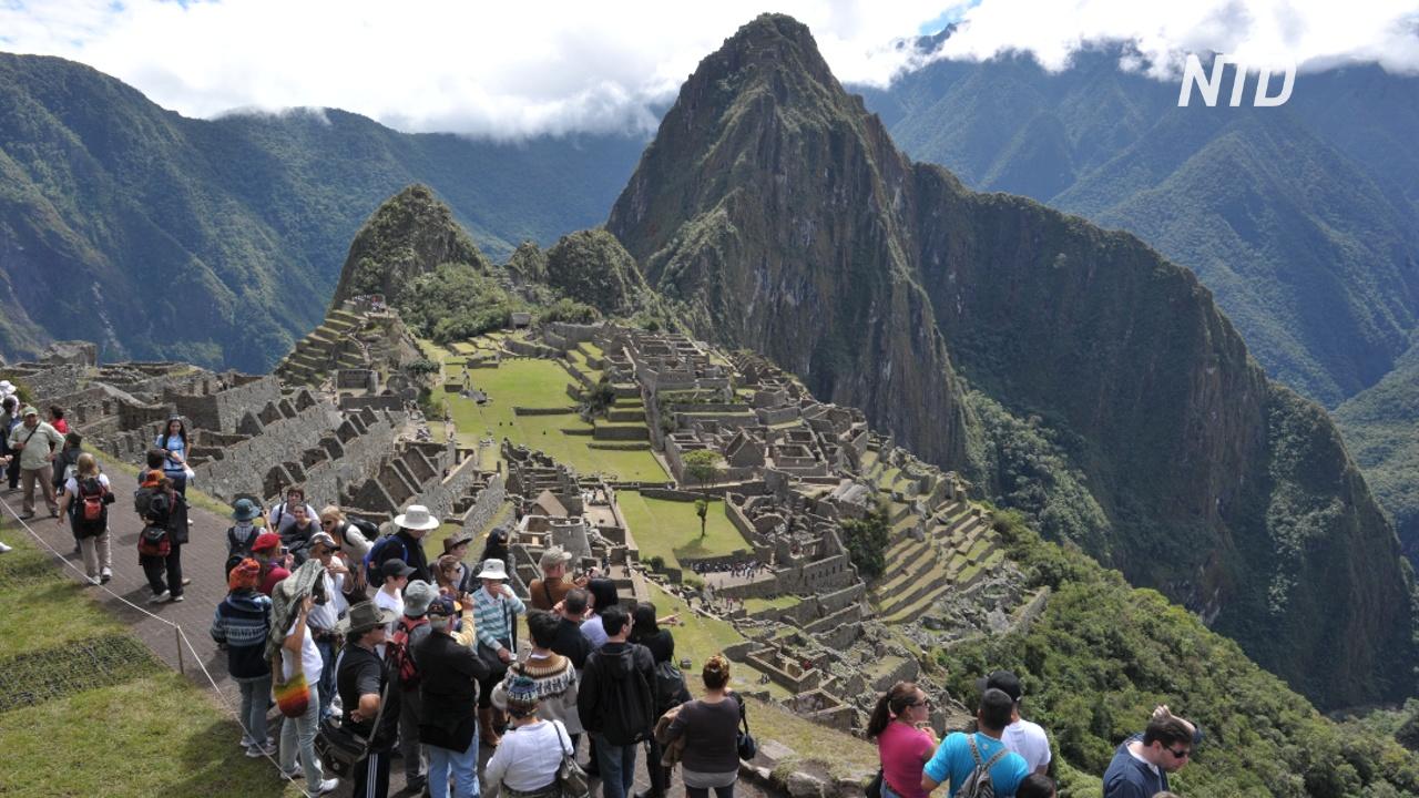 Туристу грозит тюремный срок за повреждение руин Мачу-Пикчу