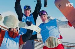 Лыжники и сноубордисты выступили на соревнованиях Laax Open в Швейарии