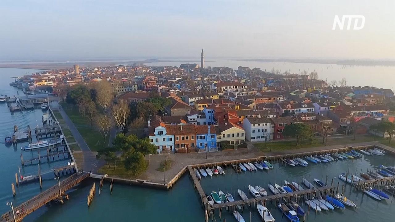 Венецианский остров Бурано развивает традиционные ремёсла, чтобы выжить