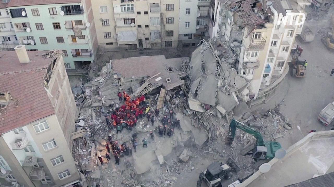 Число жертв землетрясения в Турции возросло до 38