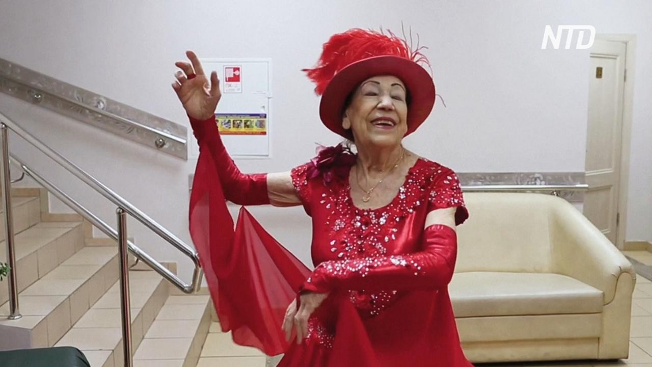 80-летние московские танцоры без устали дают концерты
