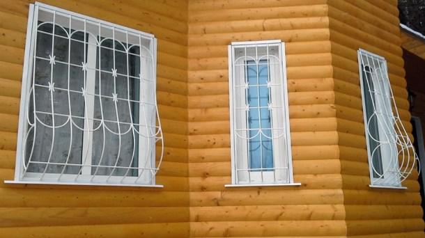 Дутые решётки на окнах – фактор безопасности