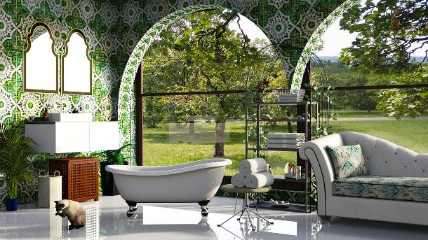 Изысканный комфорт ванной комнаты