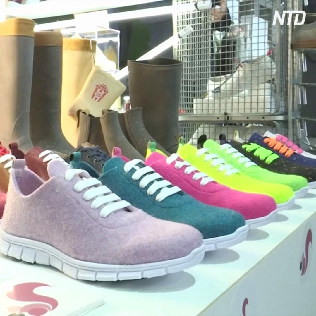 Обувь из водорослей и многое другое на выставке экологичной моды в Берлине