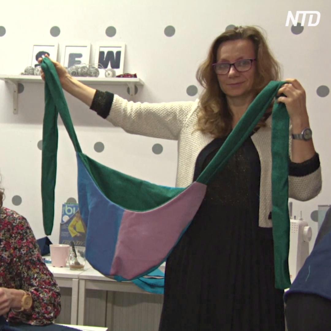 В Польше шьют тёплые сумки для осиротевших кенгурят в Австралии