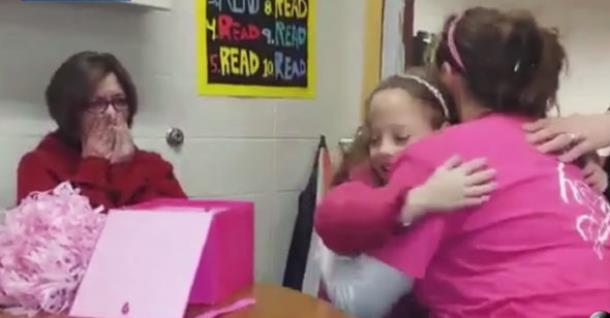 Подарок учительницы спас жизнь девочке