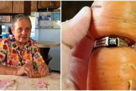 Обручальное кольцо нашлось благодаря моркови через 13 лет