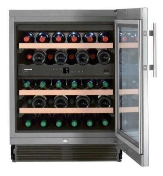 Встраиваемая винотека Liebherr UWTes 1672