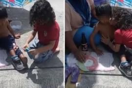 Чем поделился малыш с бездомным ребёнком