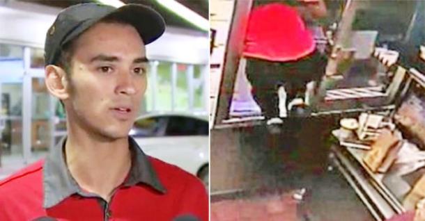 Парень выпрыгнул из окна, чтобы спасти женщину с детьми