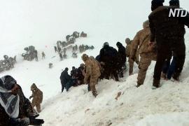 В Турции сошло две лавины: не менее 38 погибших