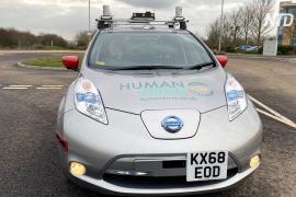 Беспилотное путешествие: Nissan Leaf проехал по Великобритании без водителя