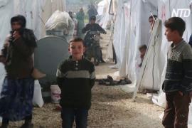 ООН: с начала декабря 700 тысяч сирийцев были вынуждены бежать из Идлиба