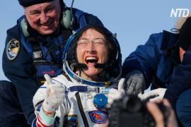 Астронавт-рекордсмен Кристина Кук рассказала о жизни на Земле и о космических планах