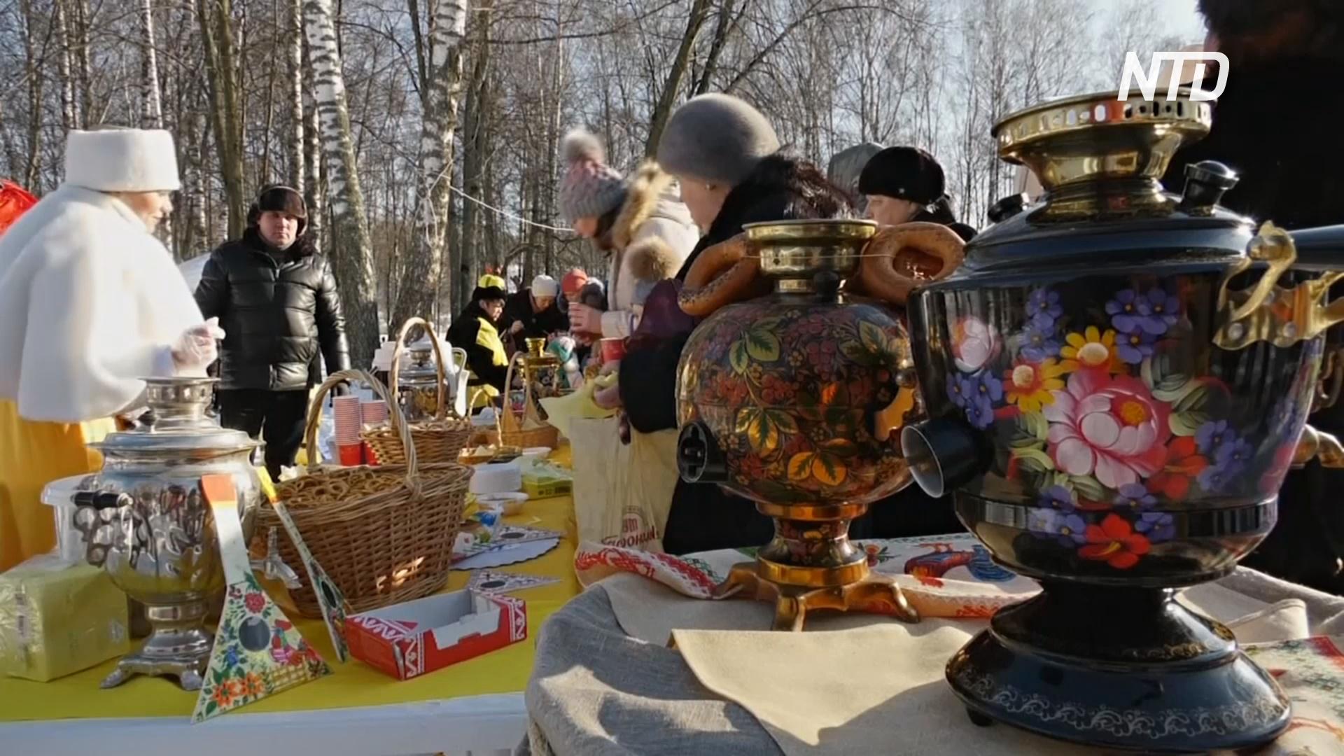 Зимнее чаепитие: в Клину прошёл фестиваль «Самоварное настроение»