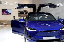 В США и Канаде отзовут 15 000 кроссоверов Tesla Model X