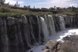Загрязнение реки рядом с «мексиканским Ниагарским водопадом» стало экстремальным
