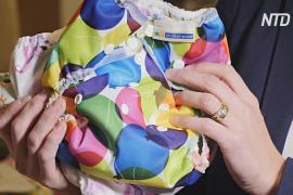 Британские родители переключаются на многоразовые подгузники