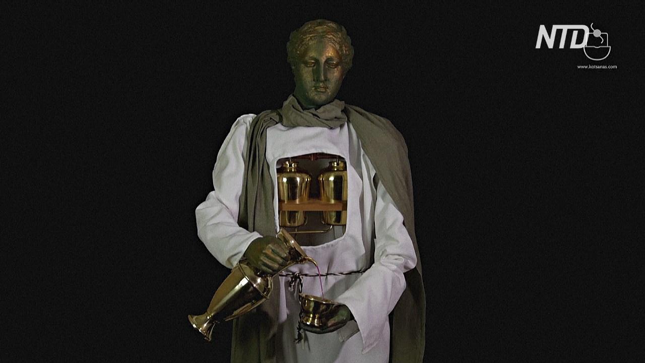 В Афинах показали компьютеры, часы и роботов Древней Греции