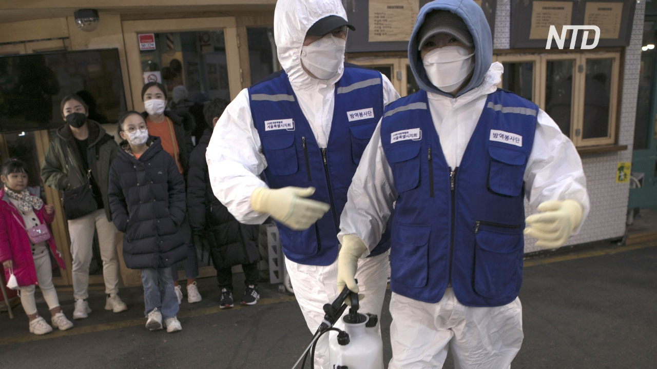 Южная Корея сообщила о 15 новых случаях коронавируса