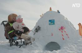 В Новосибирске построили город эскимосов из 100 иглу