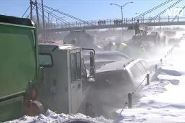В Канаде произошло ДТП с участием 200 машин