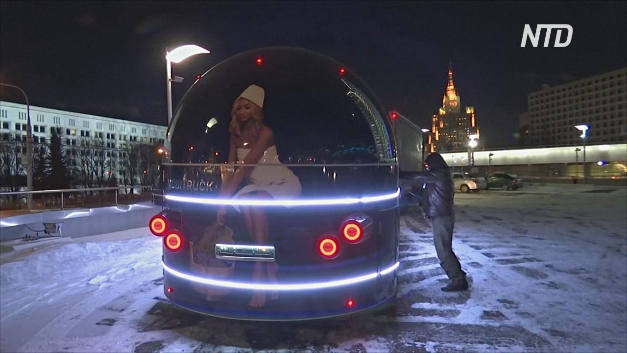 Баня на колёсах: в России теперь можно вызвать парилку на дом