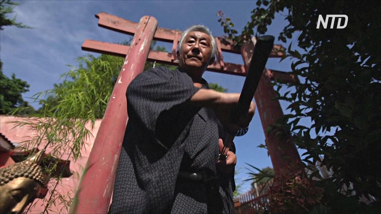 «Последний бразильский самурай» хранит традиции изготовления японских мечей