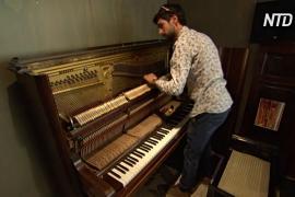 Два австралийских пианиста спасают старые фортепиано