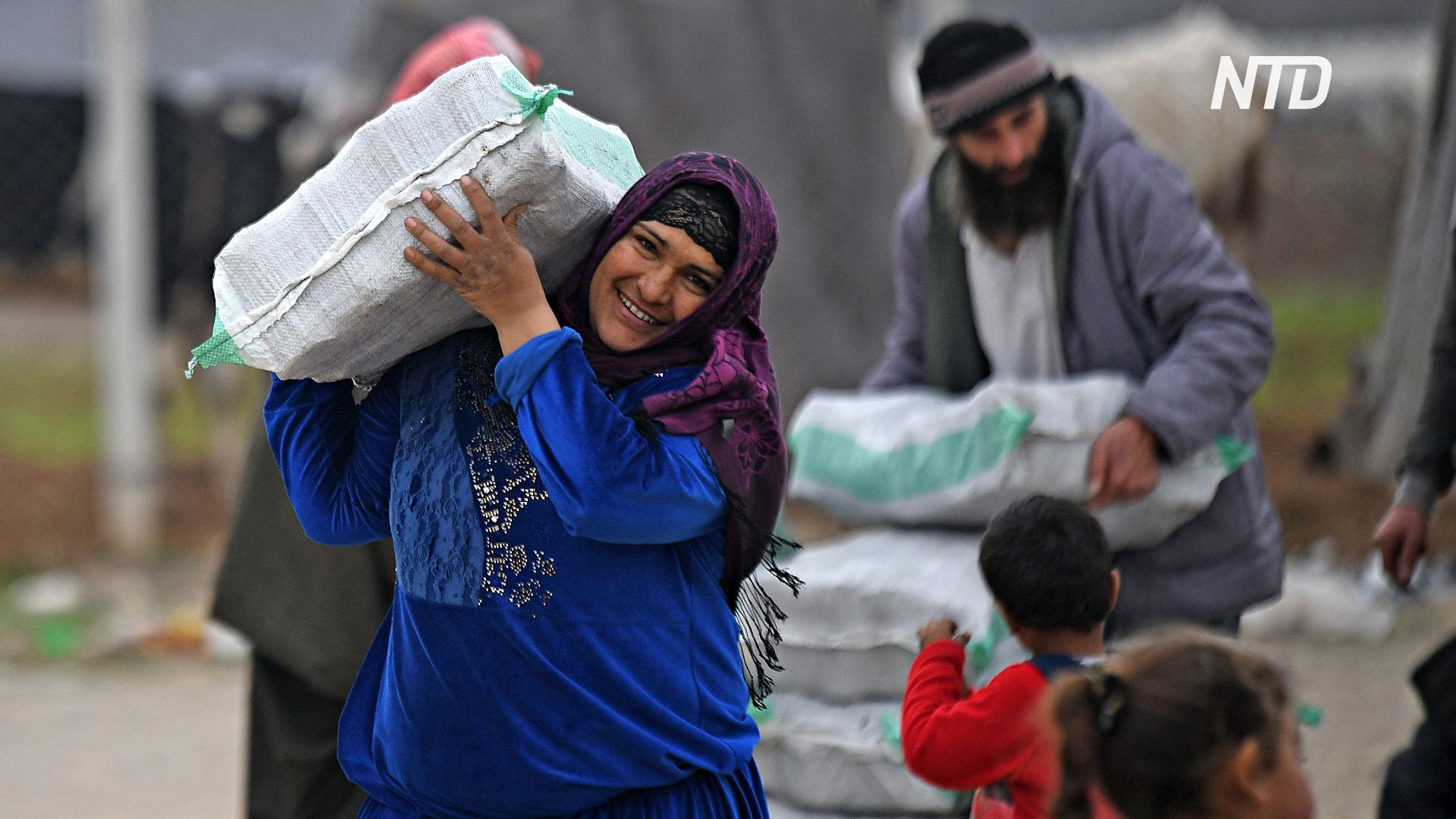 ООН просит Турцию пропускать больше гумпомощи сирийским переселенцам
