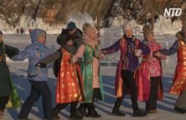На Байкале отмечают бурятский Новый год