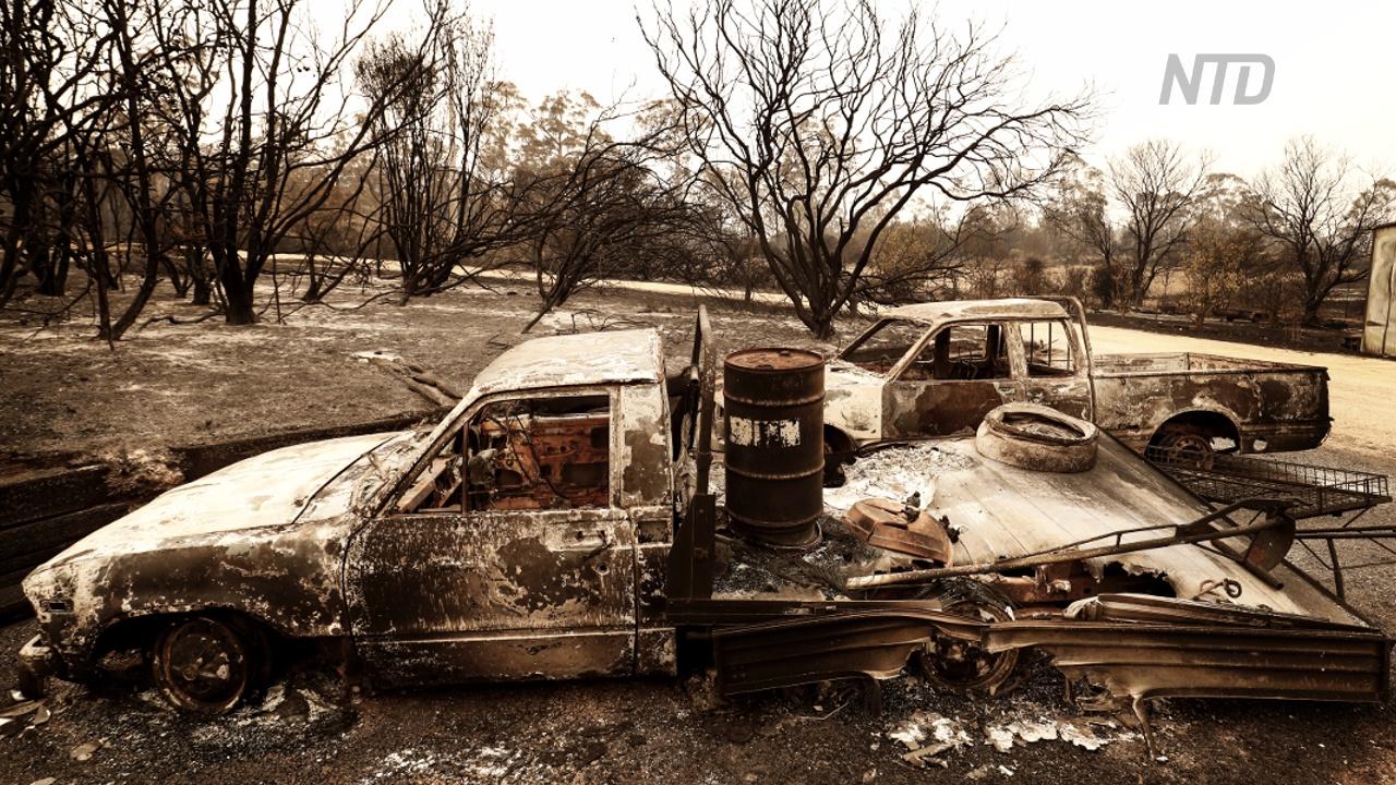 Австралийцы возращаются на пепелище, чтобы оценить ущерб