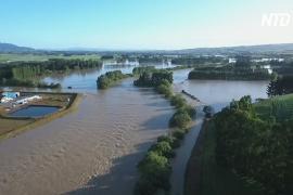Наводнения в Новой Зеландии: на острове Южном эвакуируют тысячи людей